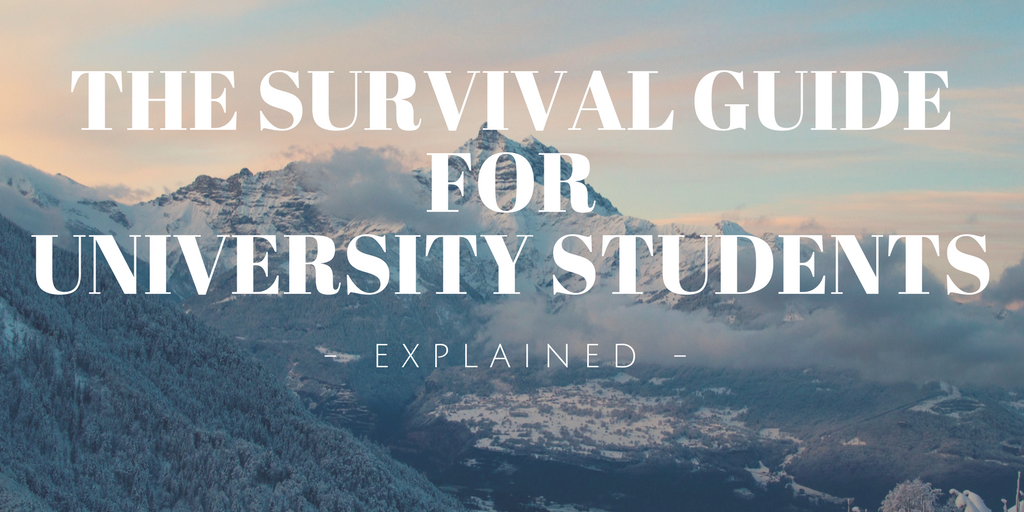 survival guide for uni students explained