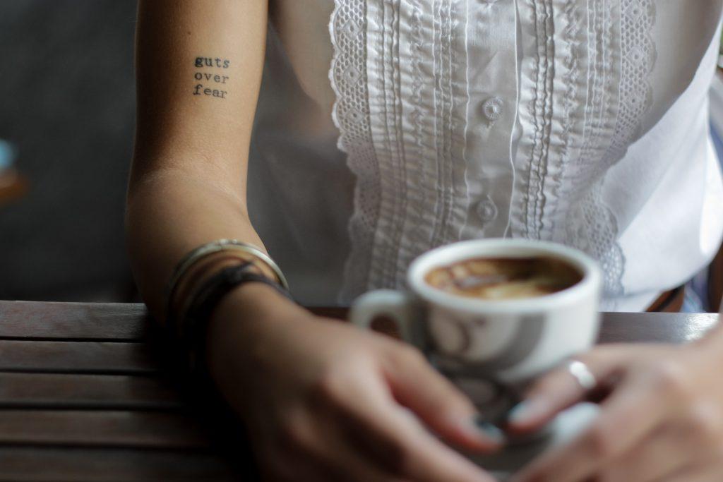coffee and writing job