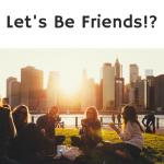 make friends at university